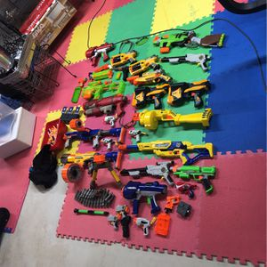 Nerf Gun Lot Everything In Pic Is Included for Sale in Freehold, NJ
