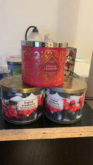 Bath and body works candles for Sale in Decatur, GA