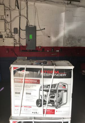 Storm Responder generator 6250 watts new in box for Sale in Woodlawn, MD