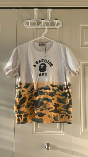 A Bathing Ape Camo T Shirt for Sale in Clinton Township, MI