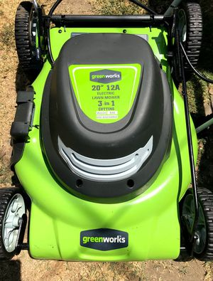 Lawn Mower Electric for Sale in Paramount, CA