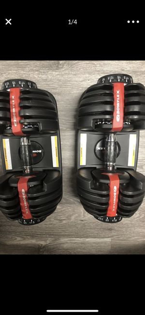 Bowflex SelectTech Dumbbells for Sale in Revere, MA