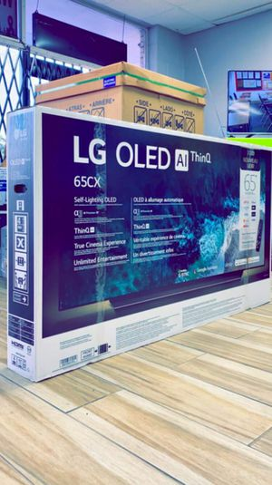 LG 65 inches - OLED - CX Series - 2160p - Smart - 4K UHD TV with HDR - Brand New in Box! One Year Warranty! Retails for $2499+ Tax! for Sale in Arlington, TX