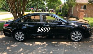🙏$8OO URGENT I sell my family car 2OO9 Honda Accord Sedan Super cute and clean in and out must !!🙏 for Sale in Richmond, VA