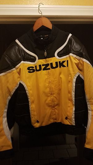 Suzuki Racing XL (textile and leather) motorcycle jacket for Sale in Alhambra, CA
