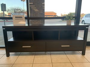 Espresso 60 inch TV stand for Sale in Fort Worth, TX