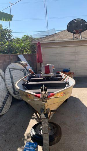 Aluminum Mirro CraftBoat for Sale in Bellflower, CA