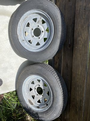 2 Trailer tires for Sale in Homestead, FL