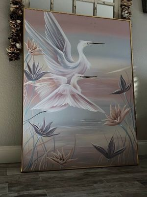 Realism Artwork painting large wall decor / home decoration for Sale in Austin, TX