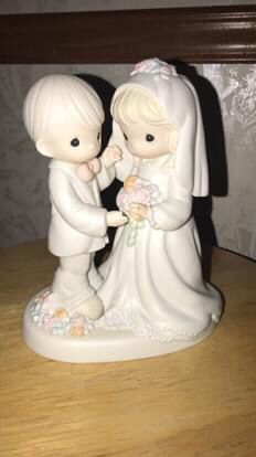 Precious Moments bride & groom for Sale in Dunwoody, GA