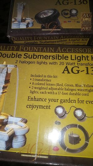 Double submersible light kit for Sale in DEVORE HGHTS, CA