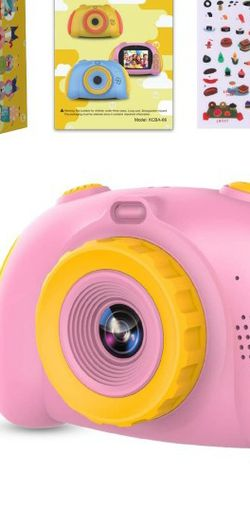 Kids HD Digital Camera W/ 32GB SD Card ( 12.0 Mega Pixels & 1080p ) -Pink for Sale in Stoneham,  MA