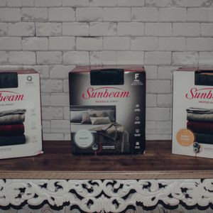 Sunbeam Heated Blankets for Sale in Dickinson, TX