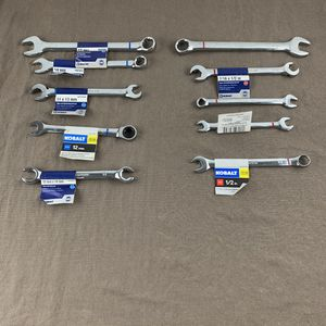 Kobalt Wrenches Lot Of 10 Metric & Standard for Sale in Yardley, PA