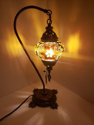 Handmade Christmas Lamp #3 for Sale in Cocoa Beach, FL