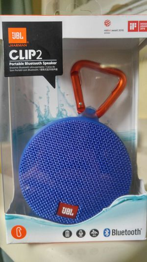 JBL Clip 2 Bluetooth Speaker for Sale in St. Louis, MO