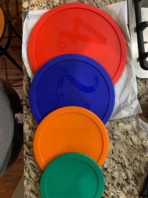 Pyrex Lids - new for Sale in Happy Valley, OR