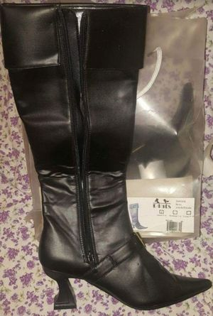 Female Size 5 - 6 Pirate Buccaneer Swashbuckler Boots Halloween Costume Female Women's Ladies for Sale in Pinellas Park, FL