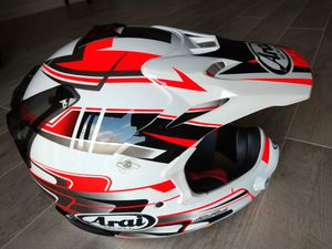 Arai vx pro 4 tip XXL 2XL. Motocross off-road road dirt bike motorcycle helmet for Sale in Willow Springs, IL