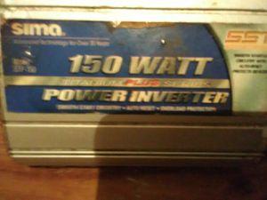 150 watt power inverter for Sale in Sallisaw, OK