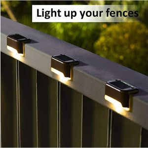 Outdoor Solar Deck Lights 16 Pack, Step Lights Waterproof Led Solar Lights for Sale in North Providence, RI