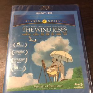 The Wind Rises Blu-Ray for Sale in Draper, UT