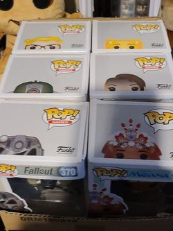 Various POP! 's (Fallout, Moana, Lion King, Elena Of Avalor)) for Sale in Belle Isle,  FL