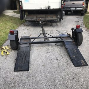 Heavy duty custom made tow Dolly for Sale in Homosassa, FL