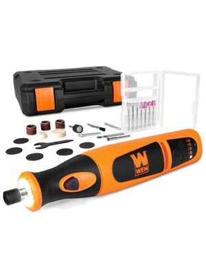 Brand New Cordless Rotary Tool Kit with 24-Piece Accessory Set, Charger, and Carrying Case for Sale in Dedham, MA