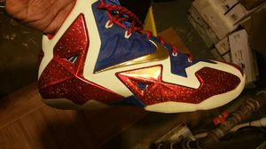 Lebron james 11 nike ID, size 13 shoe for Sale in Baltimore, MD