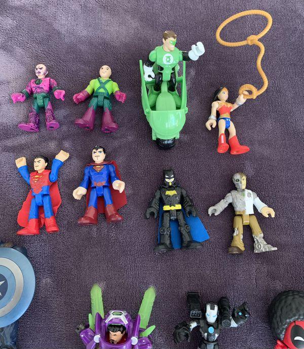 Superhero Toys ( Marvel And DC )