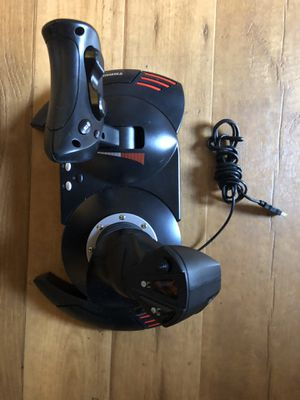 Thrustmaster flight simulator joystick for Sale in Riverside, CA