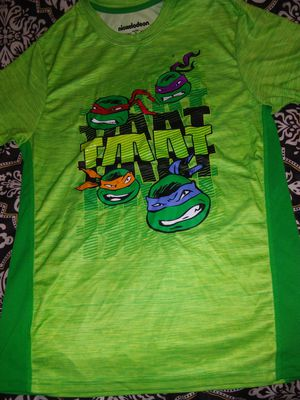 Ninja turtles boys size 2X 18 t shirt for Sale in San Angelo, TX