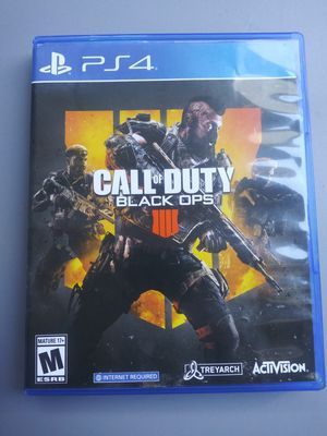 Call of Duty: Black Ops 4 - PlayStation 4 for Sale in Los Angeles, CA