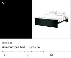 IKEA queen bed with slats for Sale in Phoenix, AZ