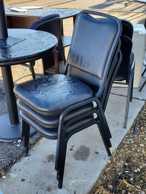 Black Office/Banquet CHAIRS for Sale in Las Vegas, NV