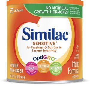 Similac Sensitive 12.5 Oz for Sale in Silver Spring, MD
