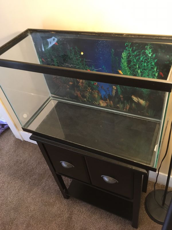 29 gallon fish tank & Stand