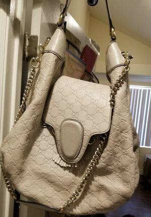 Barely used Cream Gucci Purse for Sale in Las Vegas, NV