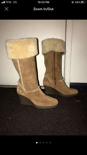 Ugh Australia Sandra wedge heel boots for Sale in Everett, WA