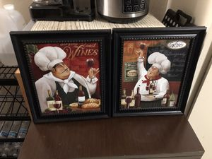 Fat Chef Kitchen Wall decor for Sale in West Modesto, CA
