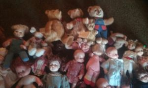 Antique Baby Doll & Teddy Bear Lot for Sale in Holland, MI
