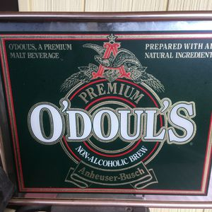 O'Douls Mirror Bar Sign Vintage for Sale in Sisters, OR