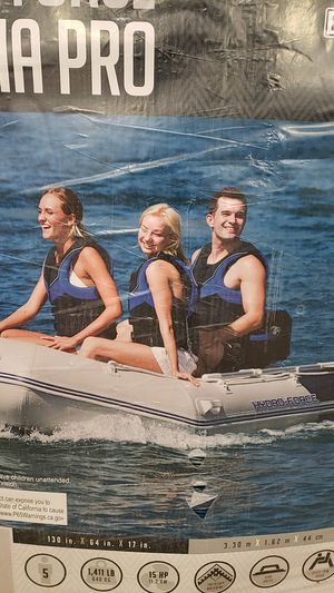 Hydro force inflatable boat for Sale in St. Louis, MO