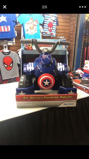 Captain America ride on for Sale in Buena Ventura Lakes, FL