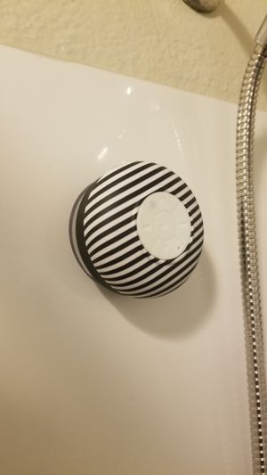 Waterproof Bluetooth shower speaker for Sale in Lakewood, CO