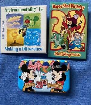 WDW (Walt Disney World) Collectors Pins for Sale in Greer, SC