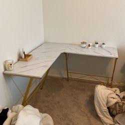 Corner Desk marble for Sale in Huntington Beach,  CA