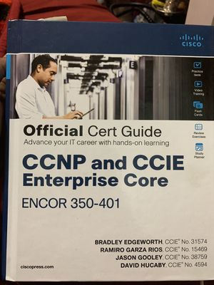 CCNP Enterprise Encore 350-401 for Sale in Queens, NY
