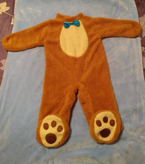 Teddy Bear Halloween costume for toddler for Sale in Peoria, IL